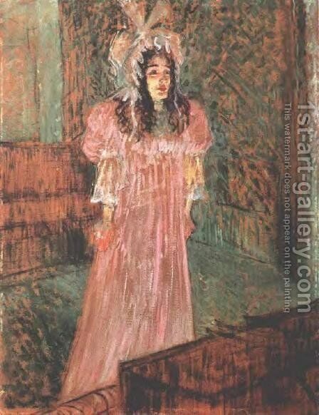 Miss May Belfort I by Toulouse-Lautrec - Reproduction Oil Painting