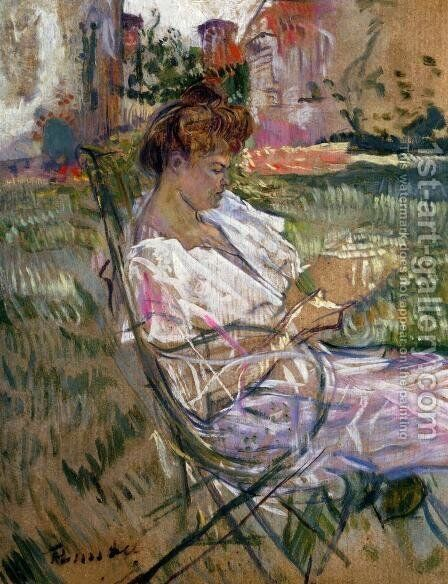 Madame Misian Nathanson by Toulouse-Lautrec - Reproduction Oil Painting