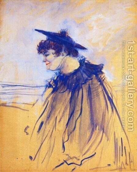 At 'Star', Le Havre by Toulouse-Lautrec - Reproduction Oil Painting