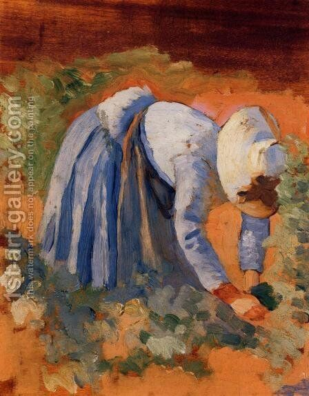 Study for 'The Grape Pickers' I by Henri Edmond Cross - Reproduction Oil Painting