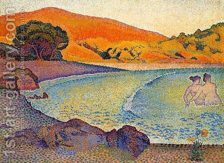 Bathers by Henri Edmond Cross - Reproduction Oil Painting