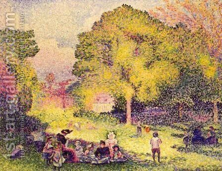 Le Ranelagh by Henri Edmond Cross - Reproduction Oil Painting