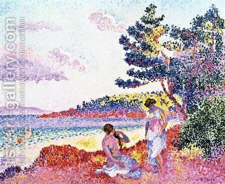 Bathers II by Henri Edmond Cross - Reproduction Oil Painting