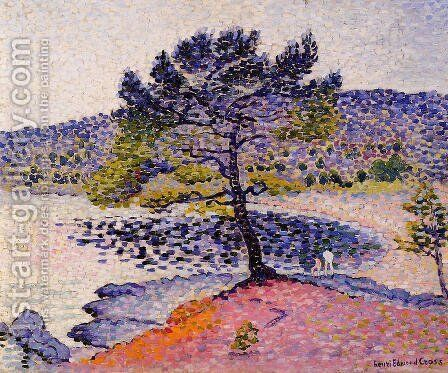 The Beach, Evening by Henri Edmond Cross - Reproduction Oil Painting