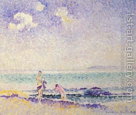 Bathers III by Henri Edmond Cross - Reproduction Oil Painting