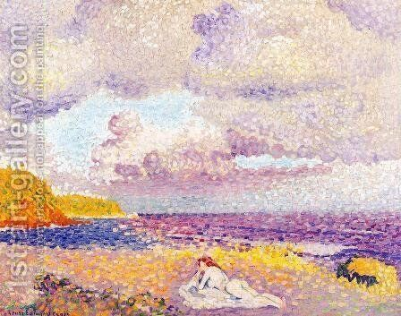 Before the Storm by Henri Edmond Cross - Reproduction Oil Painting
