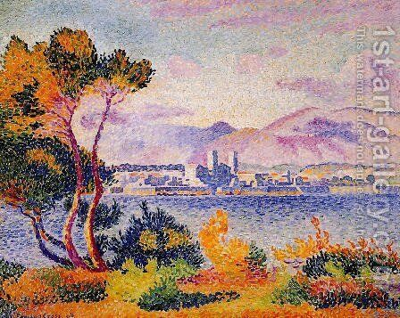 Antibes, Afternoon by Henri Edmond Cross - Reproduction Oil Painting