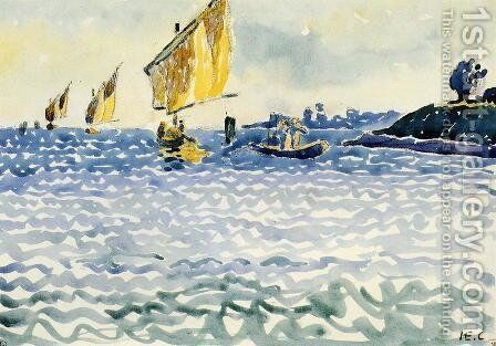 Boats by Henri Edmond Cross - Reproduction Oil Painting