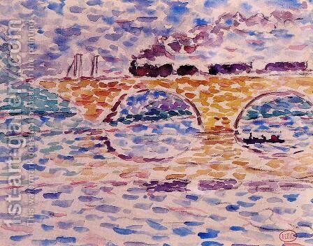 The Viaduct by Henri Edmond Cross - Reproduction Oil Painting
