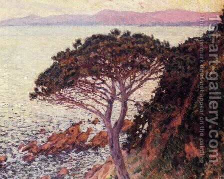 Sunset by Theo van Rysselberghe - Reproduction Oil Painting