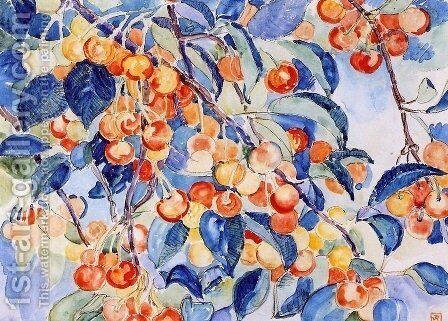 Cherries by Theo van Rysselberghe - Reproduction Oil Painting