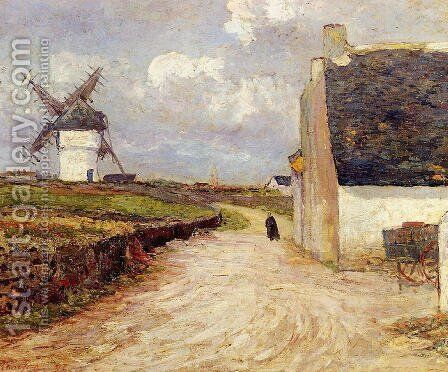 Near the Mill by Maxime Maufra - Reproduction Oil Painting