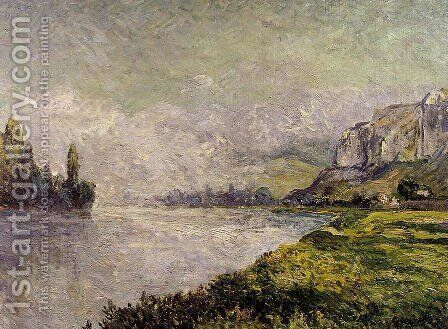 The Retreating Fog, Morning, Les Andelys by Maxime Maufra - Reproduction Oil Painting