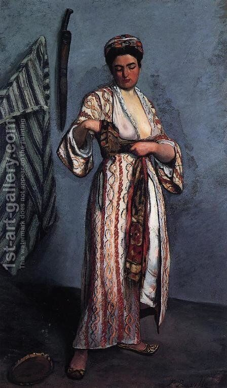 Mauresque by Jean Frédéric Bazille - Reproduction Oil Painting