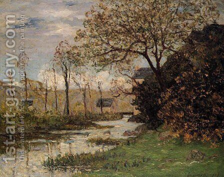 The Auray River, Spring by Maxime Maufra - Reproduction Oil Painting