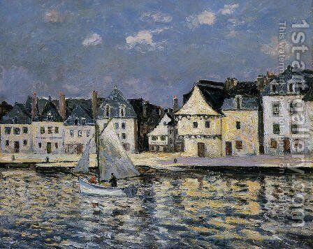 The Port of Saint Goustan, Brittany by Maxime Maufra - Reproduction Oil Painting