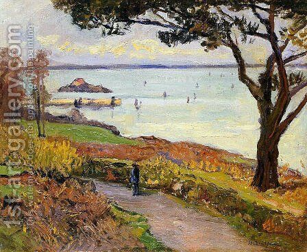 The Bay of Douarnenez by Maxime Maufra - Reproduction Oil Painting
