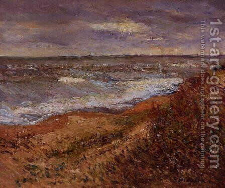 By the Sea by Maxime Maufra - Reproduction Oil Painting