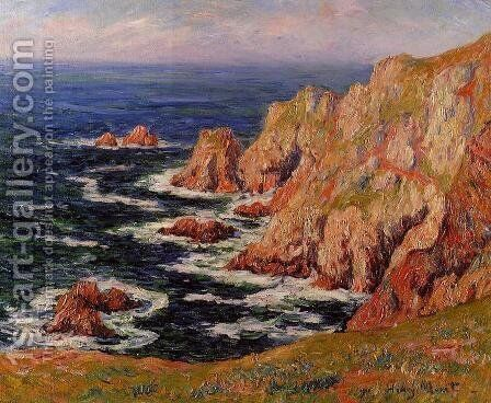 Sea Coast by Henri Moret - Reproduction Oil Painting