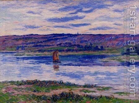 The River Basin, Finistere by Henri Moret - Reproduction Oil Painting
