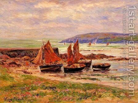 The Port at Loch by Henri Moret - Reproduction Oil Painting