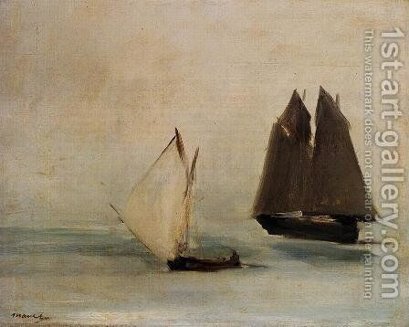Seascape by Edouard Manet - Reproduction Oil Painting