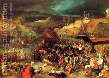 The Triumph of Death by Jan The Elder Brueghel - Reproduction Oil Painting
