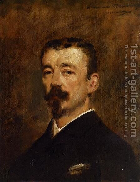 Portrait of Monsieur Tillet by Edouard Manet - Reproduction Oil Painting