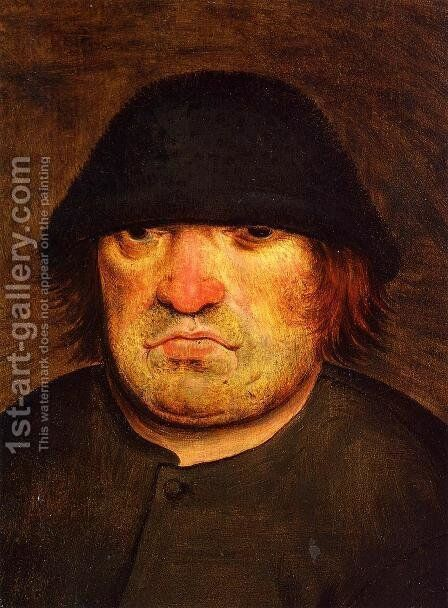 Peasant's Head by Pieter the Elder Bruegel - Reproduction Oil Painting