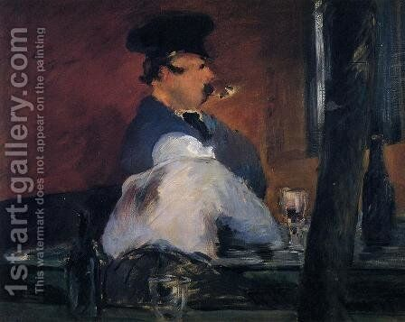 The Tavern by Edouard Manet - Reproduction Oil Painting