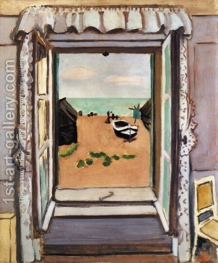 Open Window, Etretat by Henri Matisse - Reproduction Oil Painting