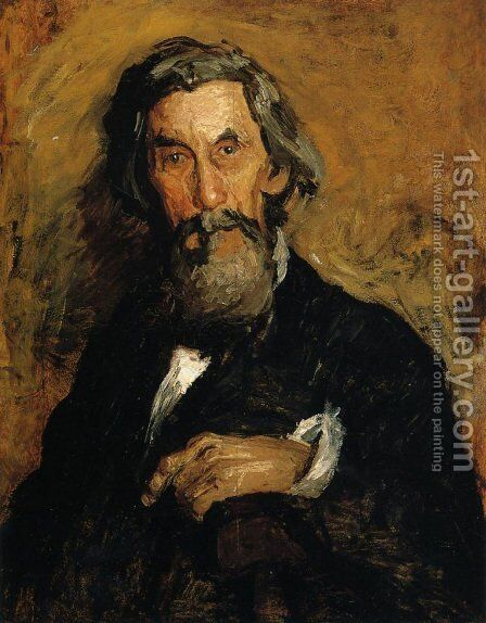 Portrait of William H. MacDowell by Thomas Cowperthwait Eakins - Reproduction Oil Painting
