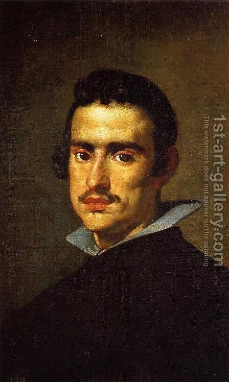Portrait of a Young Man 2 by Velazquez - Reproduction Oil Painting