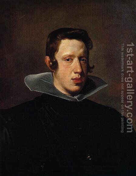 Philip IV by Velazquez - Reproduction Oil Painting