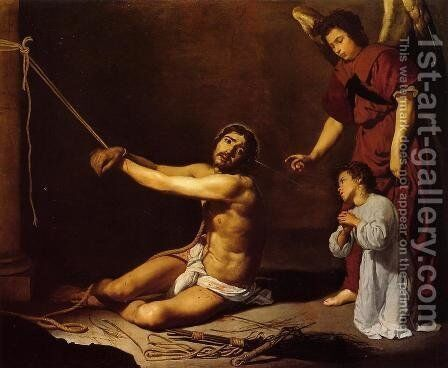 Christ and the Christian Soul by Velazquez - Reproduction Oil Painting