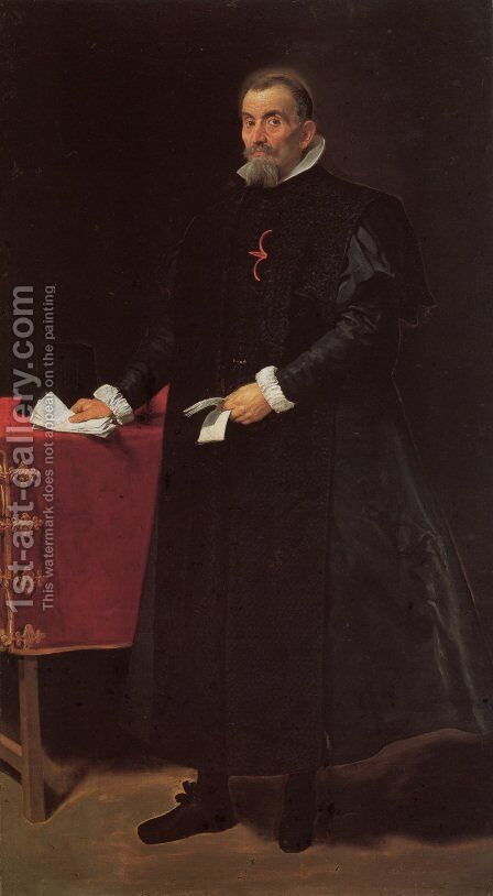 Don Diego de Corral y Arellano by Velazquez - Reproduction Oil Painting
