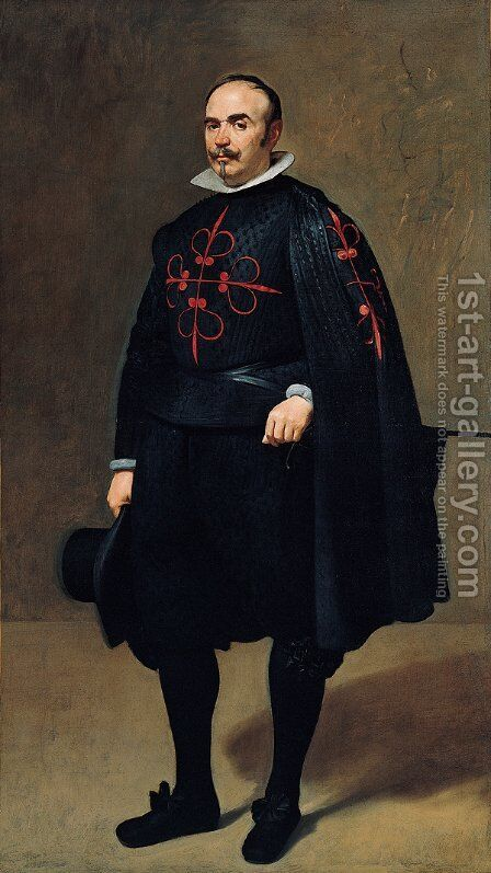 Don Pedro de Barberana Y Aparrequi by Velazquez - Reproduction Oil Painting