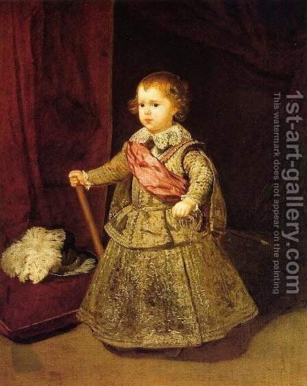 Price Baltasar Carlos by Velazquez - Reproduction Oil Painting