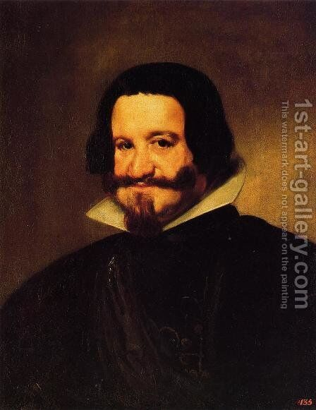 Count-duke of Olivares by Velazquez - Reproduction Oil Painting