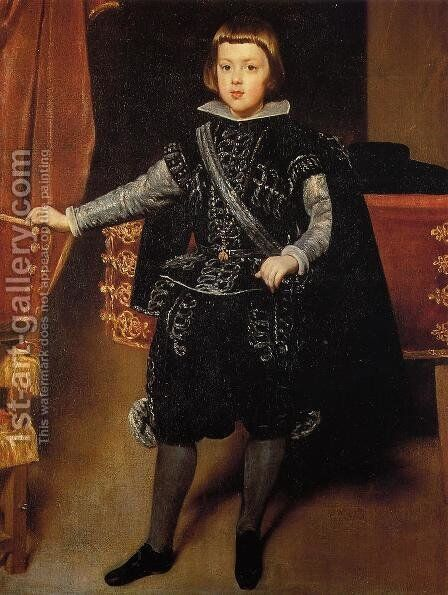 Prince Baltasar Carlos by Velazquez - Reproduction Oil Painting