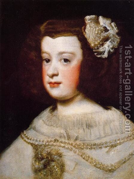 Infanta Maria Teresa by Velazquez - Reproduction Oil Painting