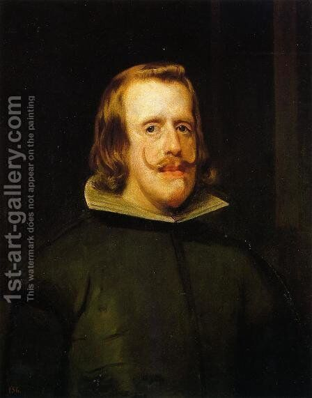 Philip IV II by Velazquez - Reproduction Oil Painting