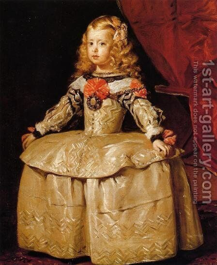 Infant Margarita by Velazquez - Reproduction Oil Painting