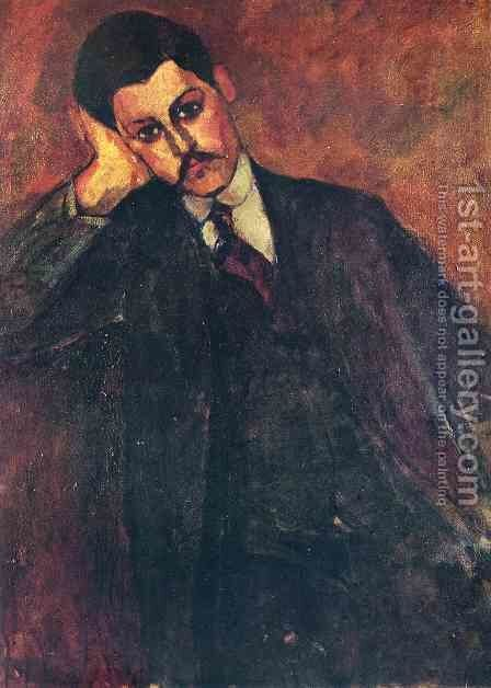 Jean Alexandre by Amedeo Modigliani - Reproduction Oil Painting
