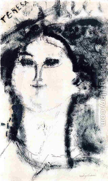 Teresa by Amedeo Modigliani - Reproduction Oil Painting