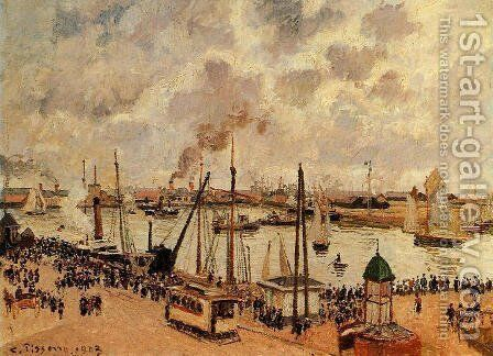 The Port of Le Havre I by Camille Pissarro - Reproduction Oil Painting