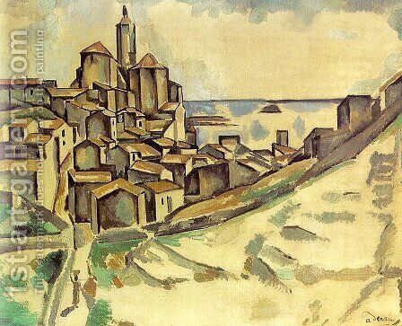 BOSWELOX by Andre Derain - Reproduction Oil Painting