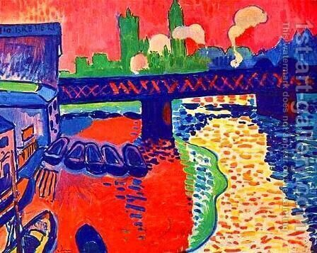 Charing Cross from sw by Andre Derain - Reproduction Oil Painting
