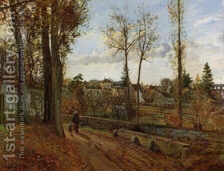 Louveciennes by Camille Pissarro - Reproduction Oil Painting