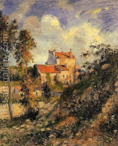 Les mathurins, Pontoise by Camille Pissarro - Reproduction Oil Painting